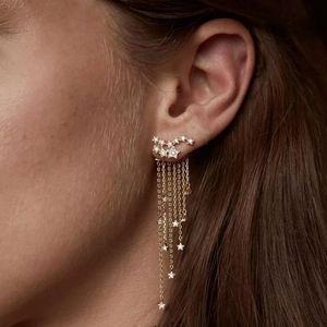 Raining star earrings